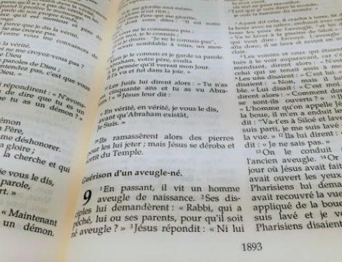 Fruits de la lecture sémiotique en Jean 9,1-41 ;