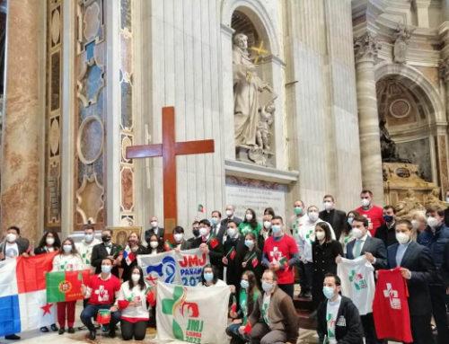 JMJ diocésaines en la fête du Christ Roi.